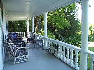 Ellmann House Porch